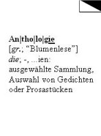 Anthologien